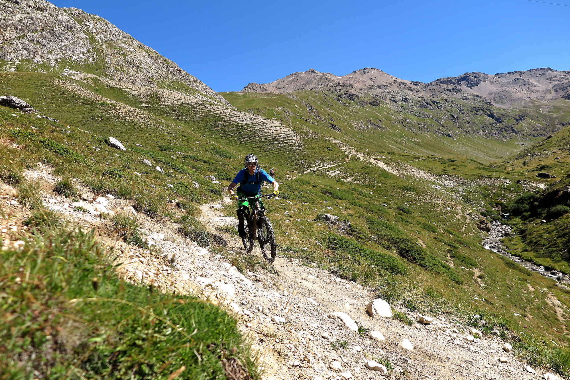 Ride Alpine Trails Mountainbike Freeride & Enduro Camp MTB Freeride Alta Rezia Ride on