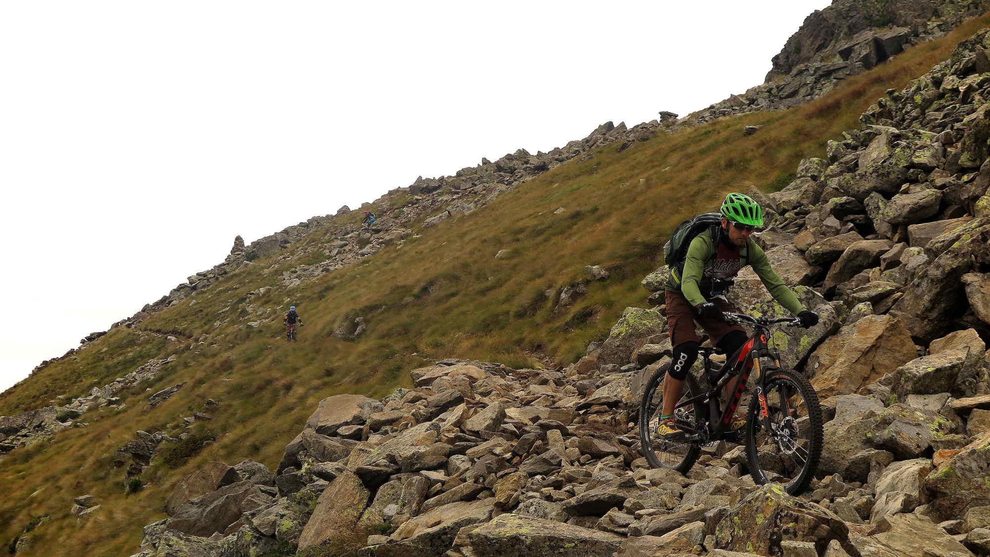 Ride Alpine Trails Mountainbike Freeride & Enduro Camp MTB Freeride Alta Rezia Ride on