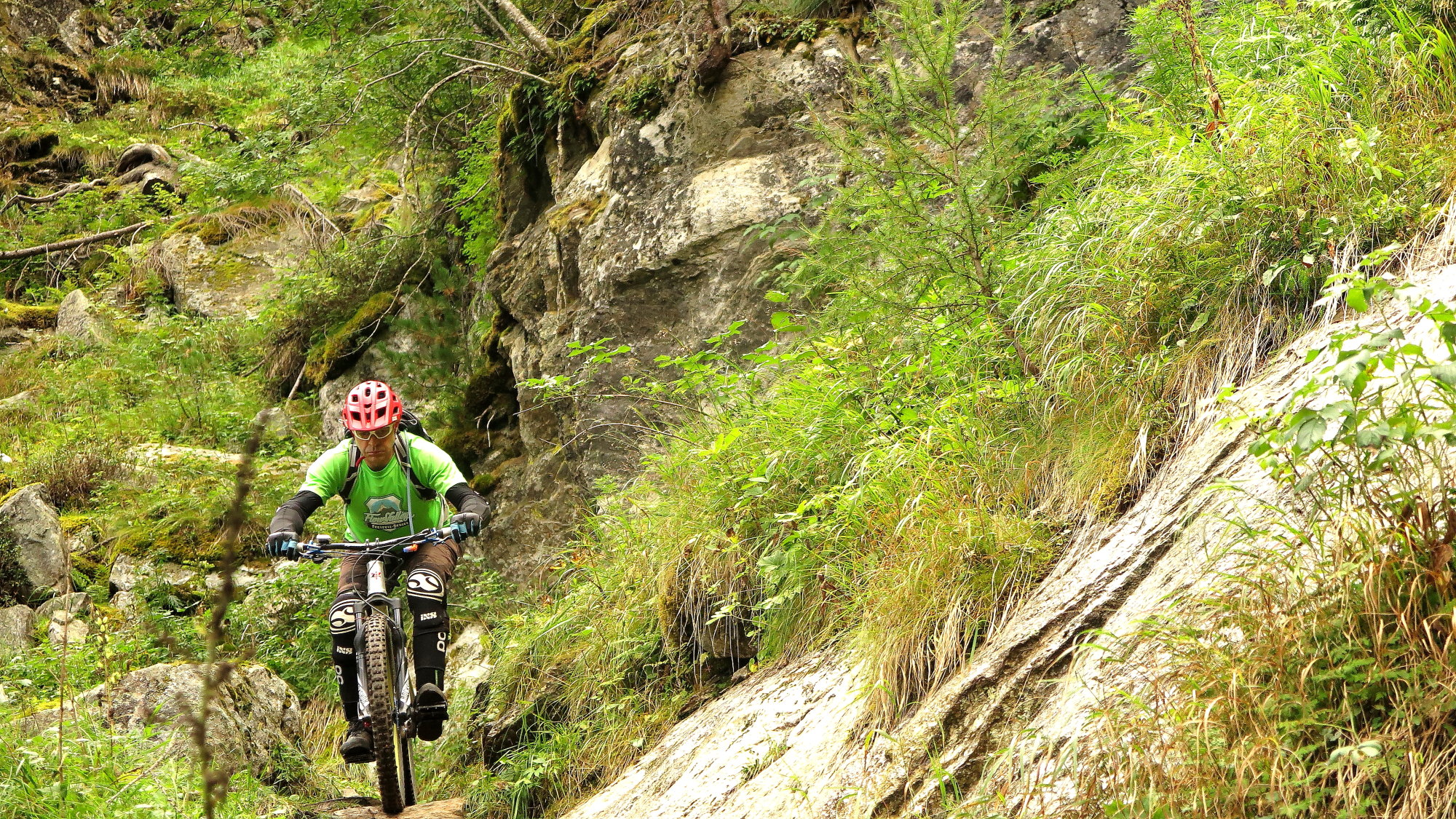 Ride Alpine Trails Mountainbike Freeride & Enduro Camp MTB Freeride Trail Attack Bikebergsteigen MTB Hochalpin Ride on