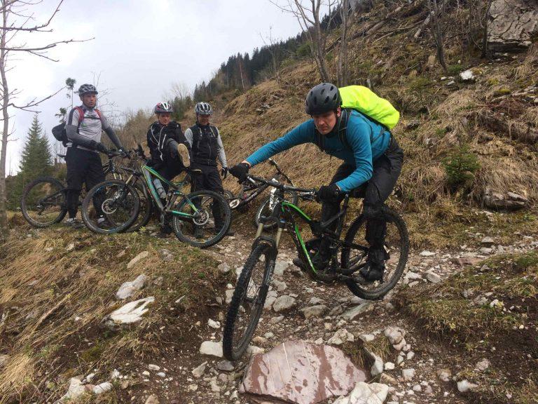 MTB Fahrtechnik Basic-Grundlagen auf dem Mountainbike