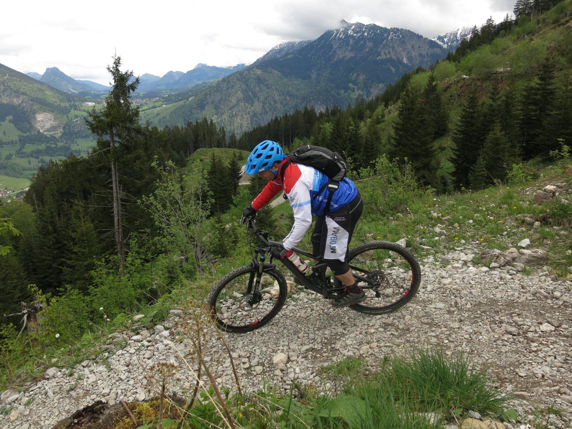 Ride Alpine Trails Mountainbike Freeride & Enduro Camp MTB Fahrtechnik Kurs Ride on