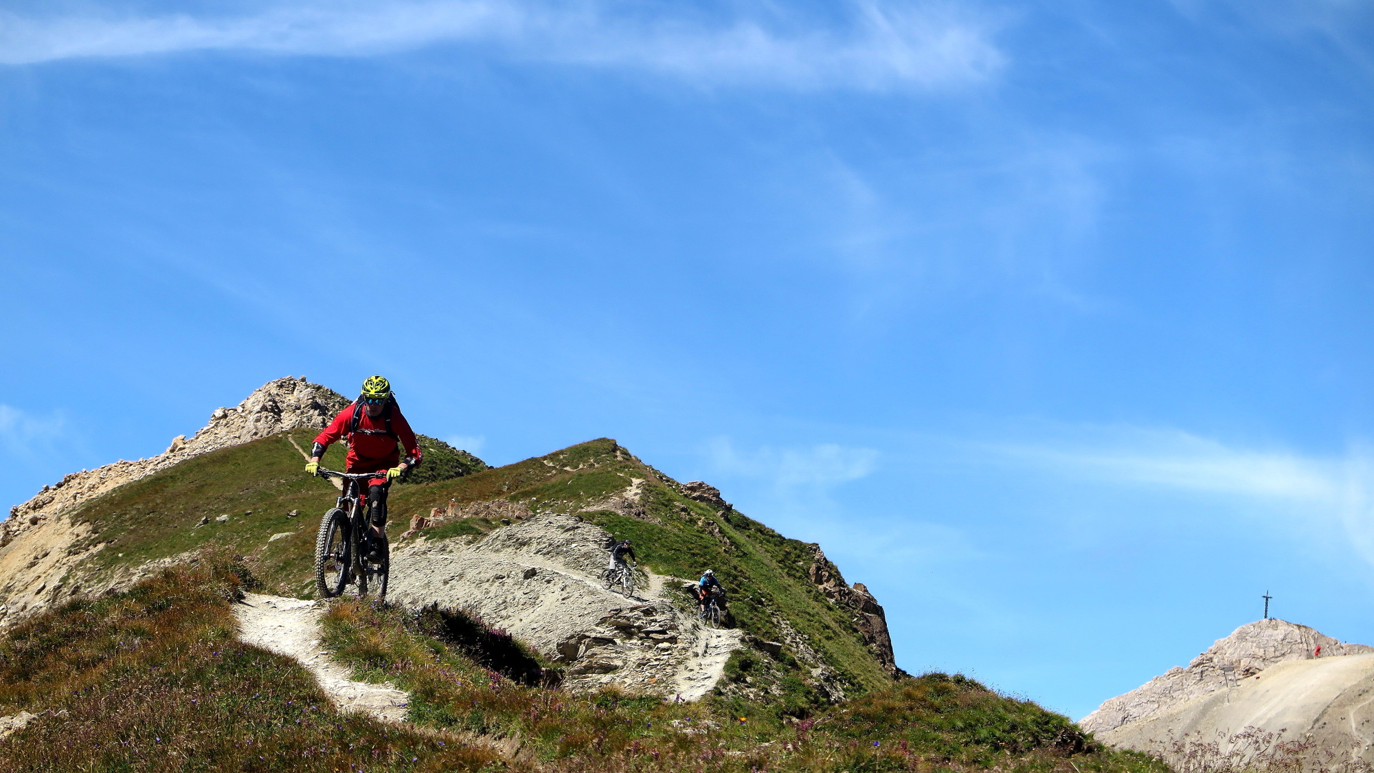 Ride Alpine Trails Mountainbike Freeride & Enduro Camp MTB Freeride Indivuelle Tourenplanung Enduro Transalp Ride on