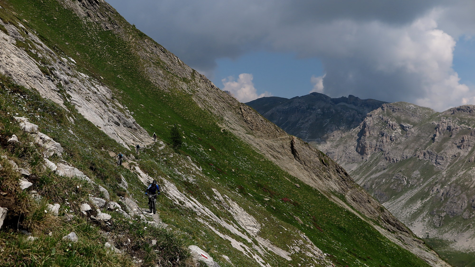 Ride Alpine Trails Mountainbike Freeride & Enduro Camp MTB Individuelle Tourenplanung Ride on