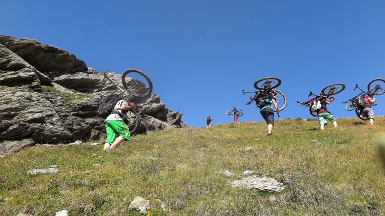 Ride Alpine Trails Mountainbike Freeride & Enduro Camp MTB Freeride Ischgl - Bozen Ride on