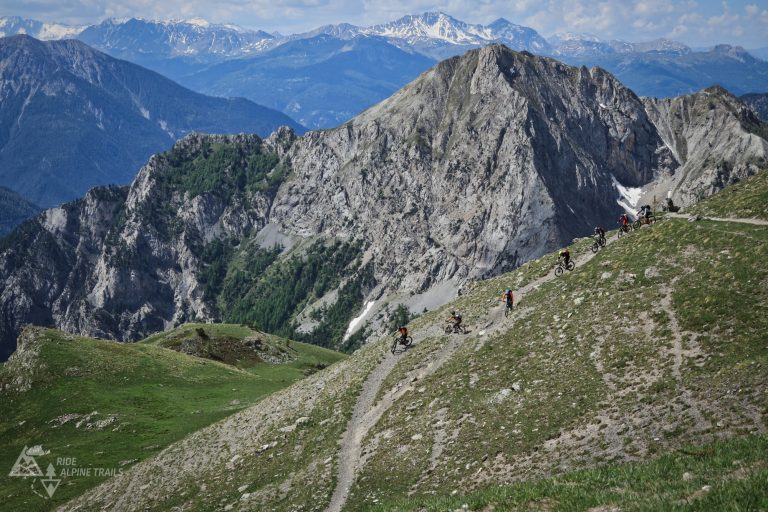 MTB Freeride Hautes Alpes- Trail Paradies