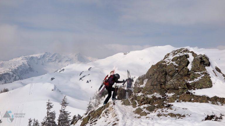 Freeridetouren Telemark Technik Privat