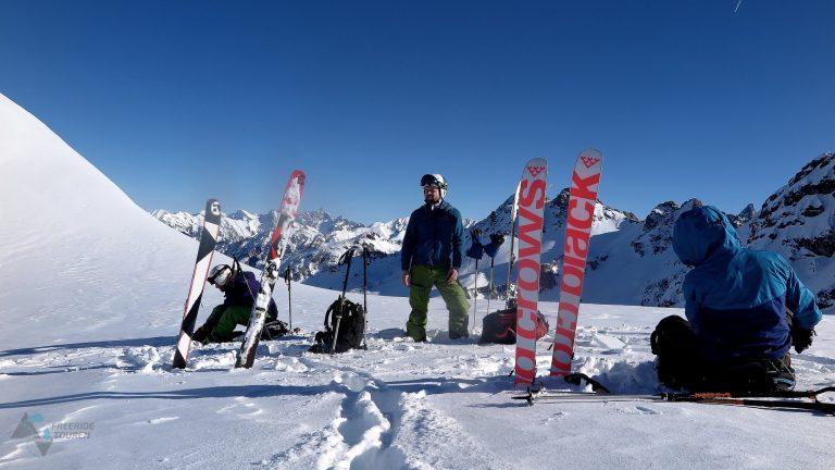 Freeridetouren Ski Technik Camp