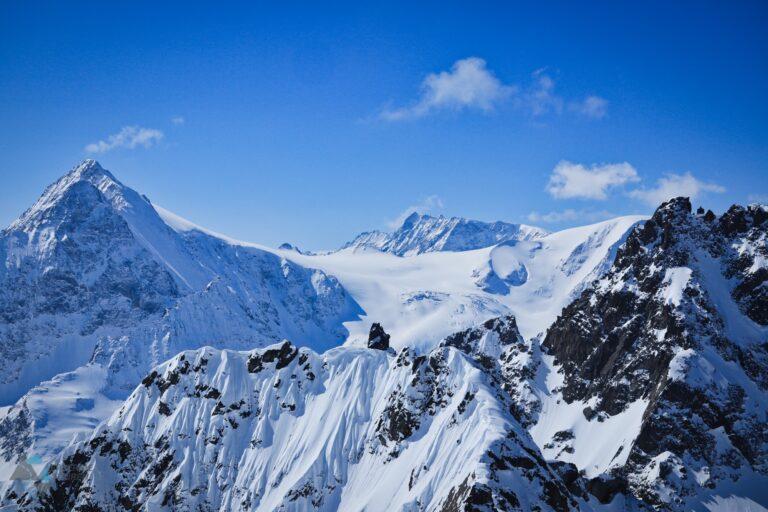 Freeridetouren Skiers Haute Route